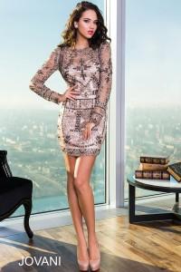Koktejlové šaty Jovani 23605