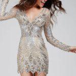 Koktejlové šaty Jovani 27205 foto 4