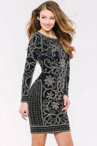 Koktejlové šaty Jovani 27668