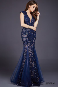 Večerní  šaty  skladem Jovani 33539