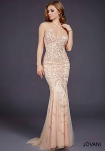 Plesové  šaty  skladem Jovani 33704
