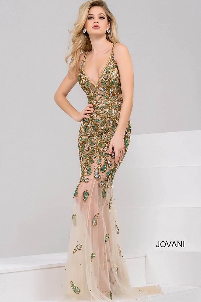 Plesové šaty Jovani 48955
