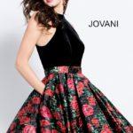 Koktejlové šaty Jovani 55056 foto 2