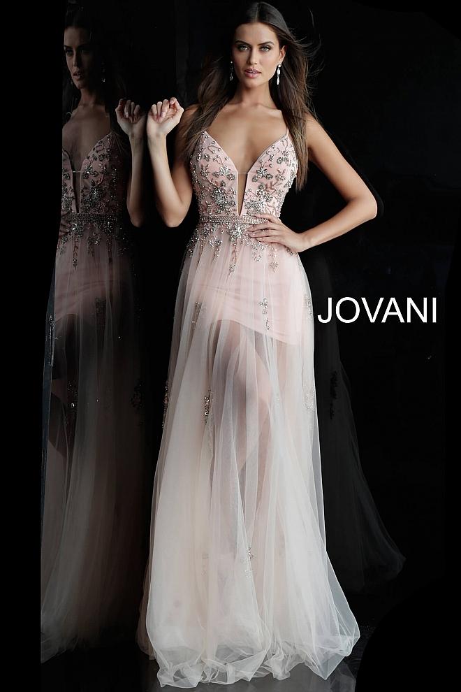 Plesové šaty Jovani 55621