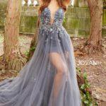 Plesové šaty Jovani 55621 foto 4
