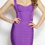 Zeštíhlující bandážové šaty Melissa foto 2