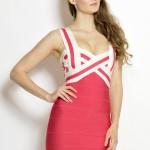 Zeštíhlující bandážové šaty Valentine foto 2
