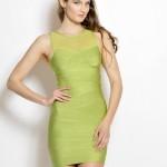 Zeštíhlující bandážové šaty Polina foto 2
