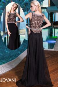 Plesové  šaty  skladem Jovani 21029