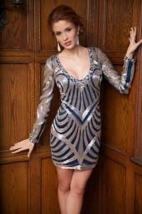 Koktejlové šaty Jovani 73060