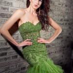 Plesové  šaty  skladem Jovani 172008 foto 5