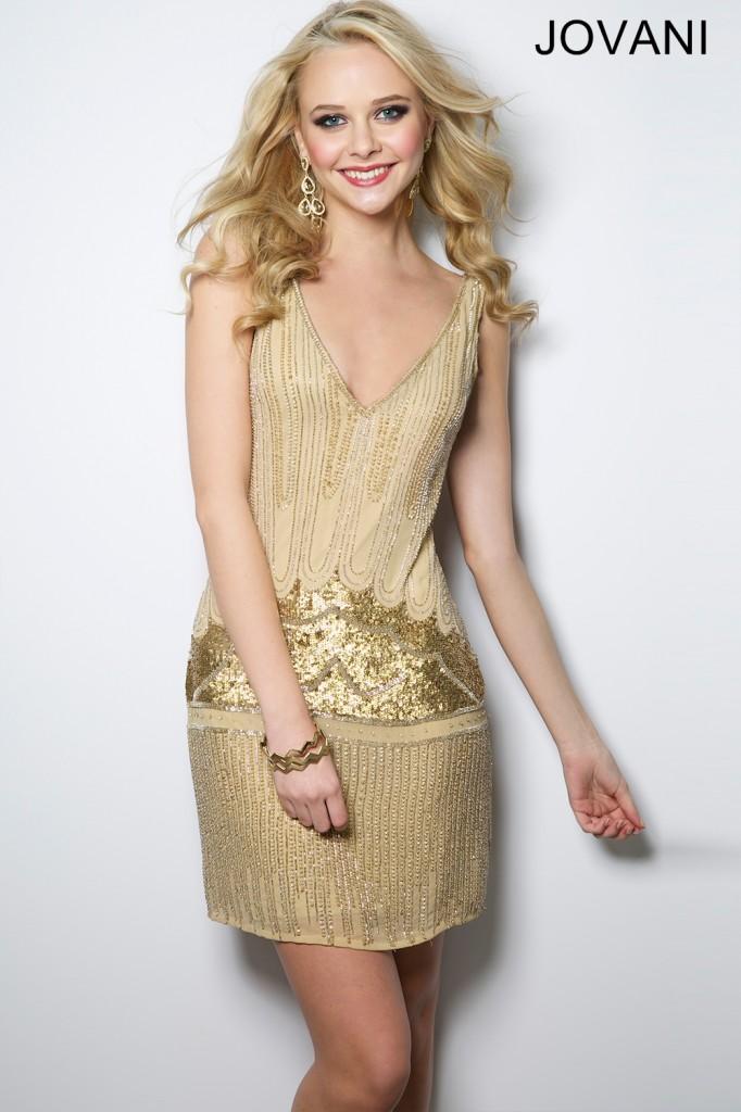 Koktejlové šaty Jovani 20711