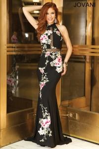 Plesové  šaty  skladem Jovani 25112