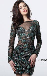 Koktejlové šaty Jovani 3011