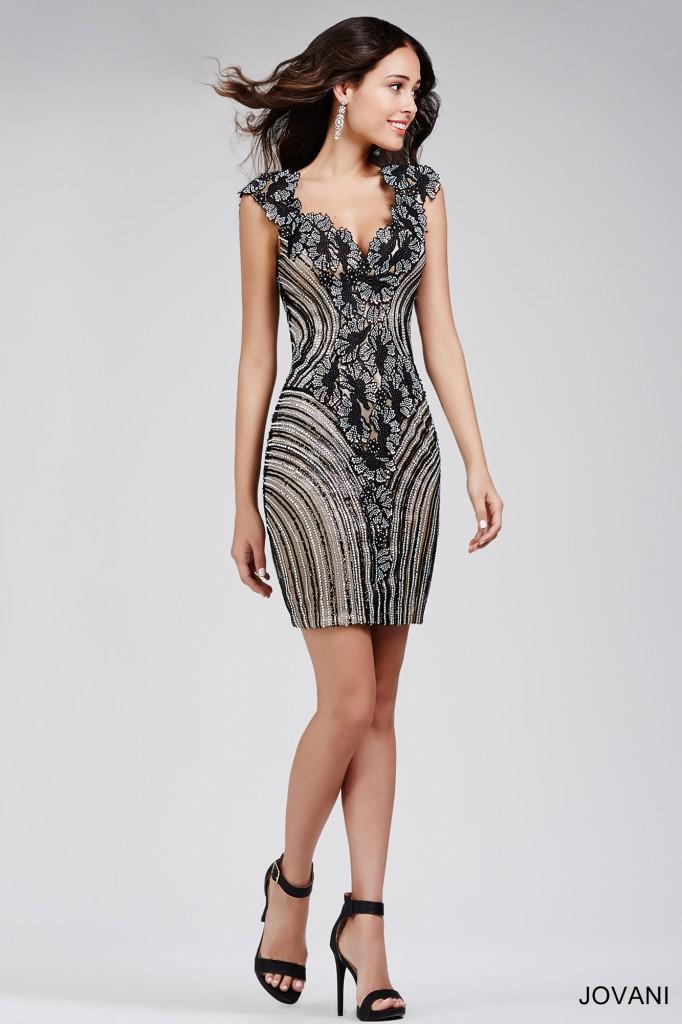 Koktejlové  šaty  skladem Jovani 31799