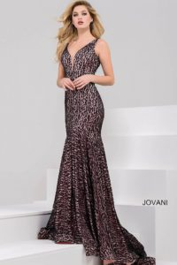 Plesové  šaty  skladem Jovani 33060