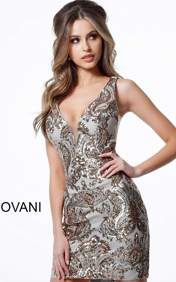 Koktejlové šaty Jovani 3414