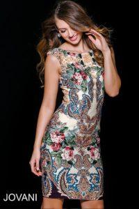 Koktejlové šaty Jovani 36570