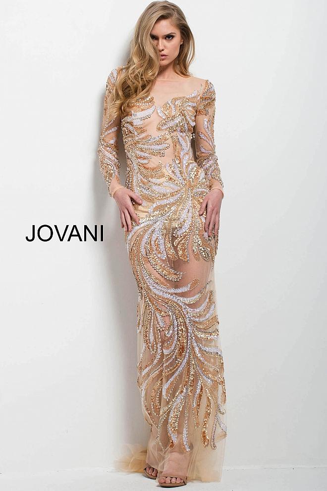 Luxusní šaty Jovani 40487