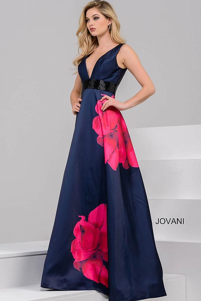 Plesové  šaty  skladem Jovani 48460