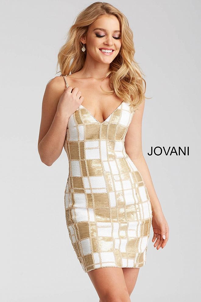 Koktejlové šaty Jovani 53105