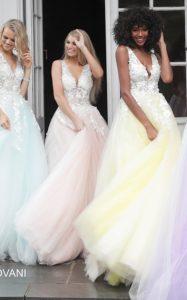 Plesové šaty Jovani 55634B