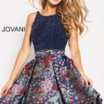 Koktejlové šaty Jovani 55719 foto 2