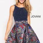 Koktejlové šaty Jovani 55719 foto 3