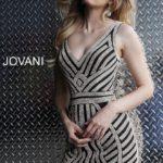 Koktejlové šaty Jovani 55928 foto 1