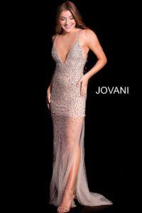 Jovani 58559. Jemné tylové plesové šaty ... 502cf7a9bb