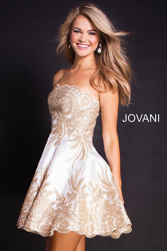 Koktejlové šaty Jovani 58938