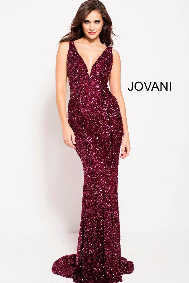 Plesové  šaty  skladem Jovani 61186