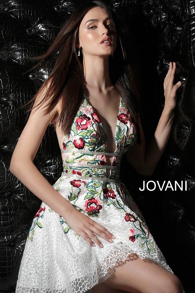 Koktejlové šaty Jovani 61649