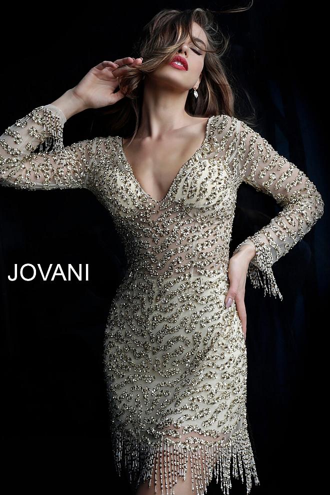 Koktejlové šaty Jovani 61784