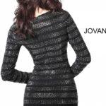 Koktejlové šaty Jovani 61881B foto 1