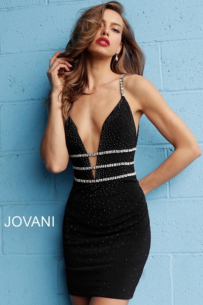 Koktejlové  šaty  skladem Jovani 61882