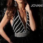 Koktejlové šaty Jovani 62303B foto 2