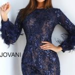Koktejlové šaty Jovani 63351B foto 4