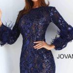 Koktejlové šaty Jovani 63351B foto 3