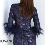 Koktejlové šaty Jovani 63351B foto 2