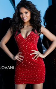 Koktejlové šaty Jovani 63560B