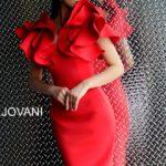 Koktejlové šaty Jovani 63890 foto 4
