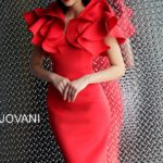 Koktejlové šaty Jovani 63890 foto 3