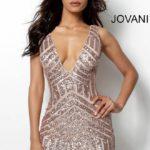 Koktejlové šaty Jovani 63899 foto 4