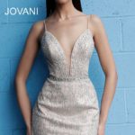 Koktejlové šaty Jovani 63906 foto 2
