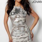 Koktejlové šaty Jovani 65309 foto 4