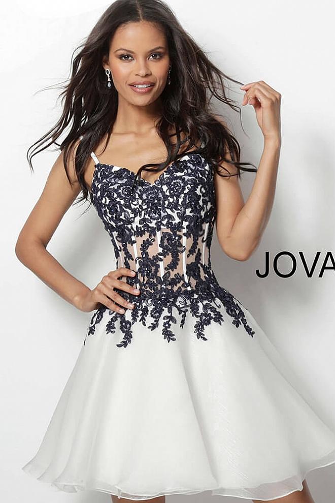 Koktejlové šaty Jovani 65718