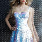 Koktejlové šaty Jovani 65971 foto 2