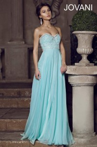 Plesové  šaty  skladem Jovani 78135