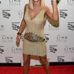 Celebrity v šatech Jovani Jenny McCarthy v Jovani 20711 foto 2